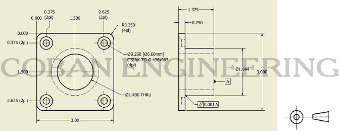 Technical Drawings Lines,Geometric Dimensioning and